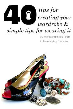 Brassy Apple: 40 tips for creating your wardrobe
