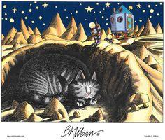 My Collection Kliban - parel - Picasa Webalbums I Love Cats, Crazy Cats, Cute Cats, Funny Cats, Connecticut, Kliban Cat, Cat Comics, Gatos Cats, Space Cat