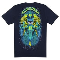 """This shirt is """"Psychedelicious!"""" http://www.houseofshroom.com/product-p/mellow1026.htm"""