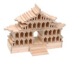 Maison chinoise en kapla