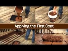 Olympic RESCUE IT! Resurfacer -- Wood Deck - YouTube should take about ...
