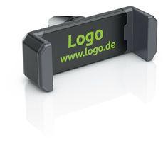 fixxo Universal KFZ-Handyhalter (schräg) in den Standardfraben als Werbeartikel mit Logo-Druck