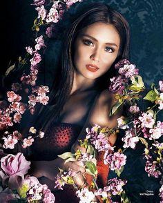 Filipina Actress, Filipina Beauty, Pre Debut Photoshoot, Photoshoot Ideas, Kathryn Bernardo Photoshoot, Daniel Padilla, Nadine Lustre, Queen B, Japanese Girl