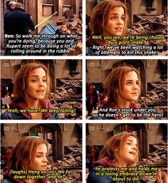 emma talking about ron and hermione