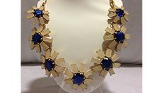 J. Crew flower necklace - a beautiful necklace!