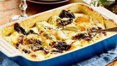 Världens godaste potatisgratäng är kanske föga förvånande fransk. Här tillverkad med nypotatis och en härligt krämig sås.