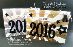 Stampin' Up!Congrats Grads Card Class and Kit to Go by Melissa Davies @rubberfunatics #stampinup #rubberfunatics