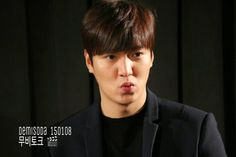 "Lee Min Ho - ""Gangnam Blues"" LIVE MOVIE TALK WITH NAVER - 08.01.2015"