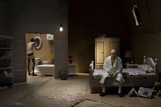 354 photograpers Maxim Delvaux Kevin Laloux diorama makieta tektura Box Belgowie surrealistyczne niepokojące