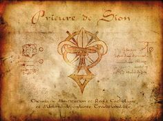 de vinci code - Yet the fact remains that the symbol of the Prieuré de Sion is the fleur-de-lis and it is this symbol that directs us to the very real conspiracy to install Antichrist as King of Jerusalem: