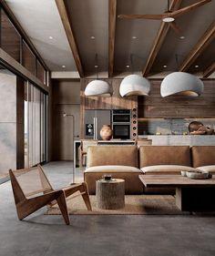 """INTERIOR on Instagram: """"Rate this design 1-10! . . Follow @moderior 👈 . cc: @yana_design_home . . #interiordesign #interior4you1 #interior123 #interior125…"""" Boho Chic Interior, Home Interior Design, Interior Architecture, Interior And Exterior, Interior Ideas, Design 3d, House Design, Autocad, Concrete Interiors"""