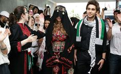 Palestinian wedding presentation.