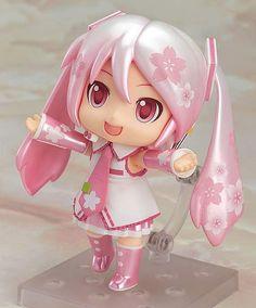 Miku Hatsune Sakura Mikudayo Nendoroid figure $36.00 http://thingsfromjapan.net/miku-hatsune-sakura-mikudayo-nendoroid-figure/ #miku hatsune #hatsune miku #Japanese anime #Japanese product