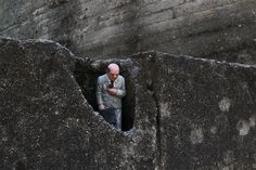 Isaac Cordal. Cement Eclipses.