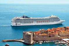 It's the weekend LET'S GO cruising! 🚢 Image MSC Cruises #msccruises #weekend #cruising #Dubrovnik Msc Cruises, What Inspires You, Dubrovnik, Inspire Others, Letting Go, Traveling By Yourself, Opera House, Travel Inspiration, Building