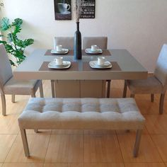 Dinning Set, Dining Room Table, Dining Bench, My House, Cambridge, Bedroom, Kitchen, Apartments, Furniture