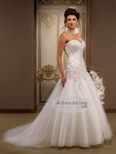 ABSOLUTLY LOVE THIS DRESS!!!!! a line wedding dresses