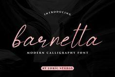 Barnetta Free beautiful/elegant/stylish calligraphy font for logo branding social media flyer wedding etc.