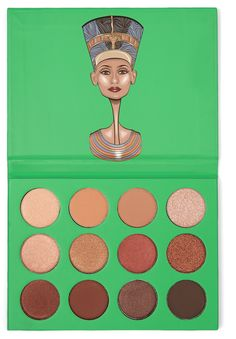 Juvia's Nubian eye shadow palette features, the most essential collection of neutral colors. This palette is easy for everyday wear into night. The Nubian Eyeshadow Palette, Natural Eyeshadow Looks, How To Do Eyeshadow, Eyeshadow Basics, Best Eyeshadow Palette, Makeup Palette, Cream Eyeshadow, Natural Makeup, Natural Beauty
