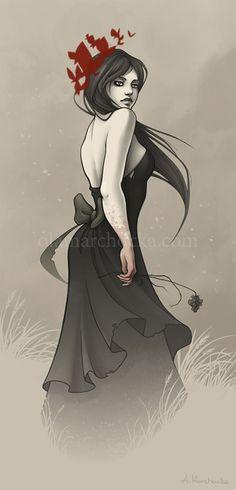 """Lady Midday"" by Aleksandra Marchocka"