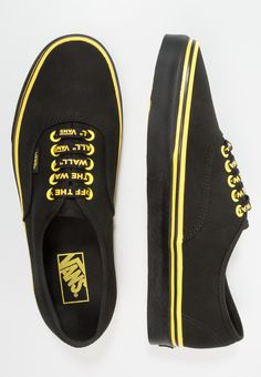 Vans AUTHENTIC - Zapatillas - black/celandine - Zalando.es