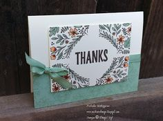 Michelle's Great Paper Chase: August 2016 Paper Pumpkin Kit: Bold Botanicals- mint macaroon