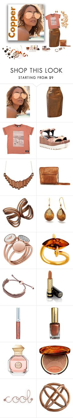 """""""Untitled #751"""" by deborah-518 ❤ liked on Polyvore featuring Quay, Gianfranco Ferré, STELLA McCARTNEY, Latico, Renoir, Silver Forest, Emporio Armani, Be-Jewelled, Links of London and Gucci"""