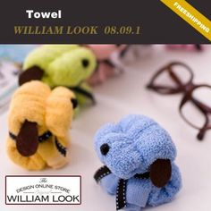 Min.order is $25 (mix order)cartoon dog towel Microfiber Cute animal cleaning towel washcloth face towel promotion gift MMA08091 on AliExpress.com. $2.22