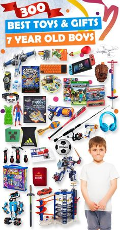 Tons Of Great Gift Ideas For 7 Year Old Boys