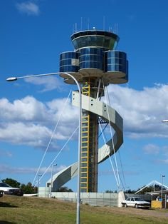 Airport Control Tower, Green Architecture, Space Station, Airports, Willis Tower, Towers, Airplanes, Sydney, Aircraft