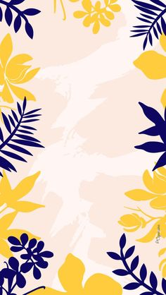 Capuciine colorful summer screen background rnrnSource by angelxxxeve Bright Wallpaper, Flowery Wallpaper, Framed Wallpaper, Tropical Wallpaper, Watercolor Wallpaper, Cute Patterns Wallpaper, Iphone Background Wallpaper, Aesthetic Iphone Wallpaper, Background Patterns