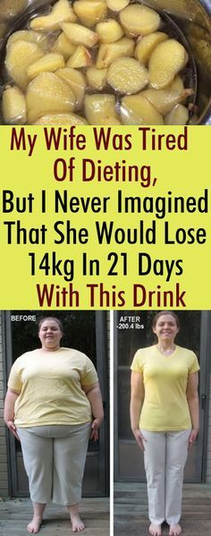 My Wife Was Tired Of Dieting, But I Never Imagined That She Would Lose 14kg In 21 Days With This Drink – Woman Tricks