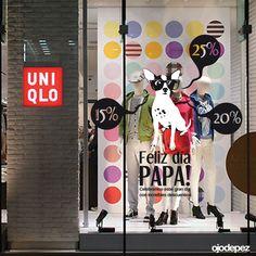 Vinilos Día del Padre 012: Vinilos decorativos Día del Padre Vinilos adhesivos vidrieras escaparates show window Window Display Wall Art Stickers wall stickers
