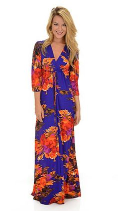 Summer Path Maxi :: NEW ARRIVALS :: The Blue Door Boutique