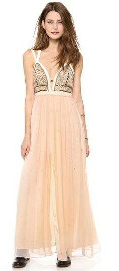 Free People Golden Chalice Maxi Dress on shopstyle.com