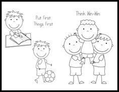 7 HABITS COLORING BOOKLET FREEBIE- SAVVY SCHOOL COUNSELOR - TeachersPayTeachers.com