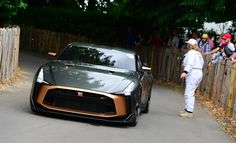 The Nissan GT-R50 makes its official debut at the 2018 Goodwood Festival of Speed