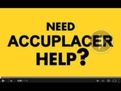 What to study for accuplacer?