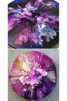 Acrylic pouring recipes and techniques for amazing DIY paintings - Craft-Mart