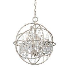Kichler Lighting 6-Light Brushed Nickel Chandelier Dining room lighting