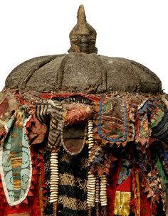 Africa | Detail from a Yoruba Egungun | © Tim Hamill