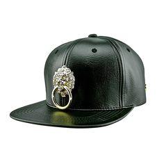 Faux Leather Snapback Hat 888f308c5f3b