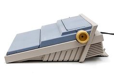 Plastic Portable Electronic Typewriter ETP 55 design Mario Bellini 1985-'86 executed by Olivetti / Italy