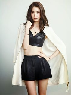 Girls' Generation's Yoona shows off her sexiness for Marie Claire - Latest K-pop News - K-pop News | Daily K Pop News