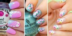 diserño corta cortas Faciles de Hacer En CASA 2018 For many of us, the lasting charm of nail art is that we can express our pleasures (no matter how wild or repressed) without the. Pedicure Nail Art, Manicure At Home, Gel Manicure, Latest Nail Art, Trendy Nail Art, Tumblr Tattoo, Unicorn Hair Color, Short Nail Designs, Short Nails