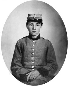 "Photo: Confederate Pvt. Edwin Francis Jemison, 2nd Louisiana Infantry Regiment. Credit: Library of Congress, Prints and Photographs Division; Wikimedia Commons. Read more on the GenealogyBank blog: ""A Confederate Soldier Writes Home."" https://blog.genealogybank.com/a-confederate-soldier-writes-home.html"