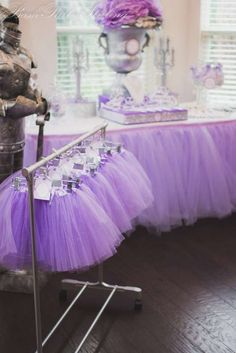 Paloma's Purple Princess Party | CatchMyParty.com