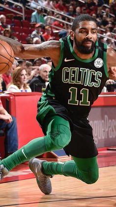 Kyrie Irving on Celtics! Cavs Basketball, Basketball Games Online, New York Basketball, Basketball Moves, Basketball Photos, Basketball Skills, Basketball Players, Basketball Cards, Kyrie Irving Celtics