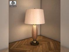 3D Model Ashley Ashlyn Table Lamp c4d, obj, 3ds, fbx