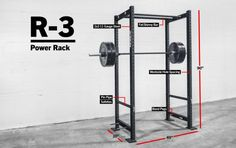 Rogue R-3 Power Rack - Weight Training - CrossFit